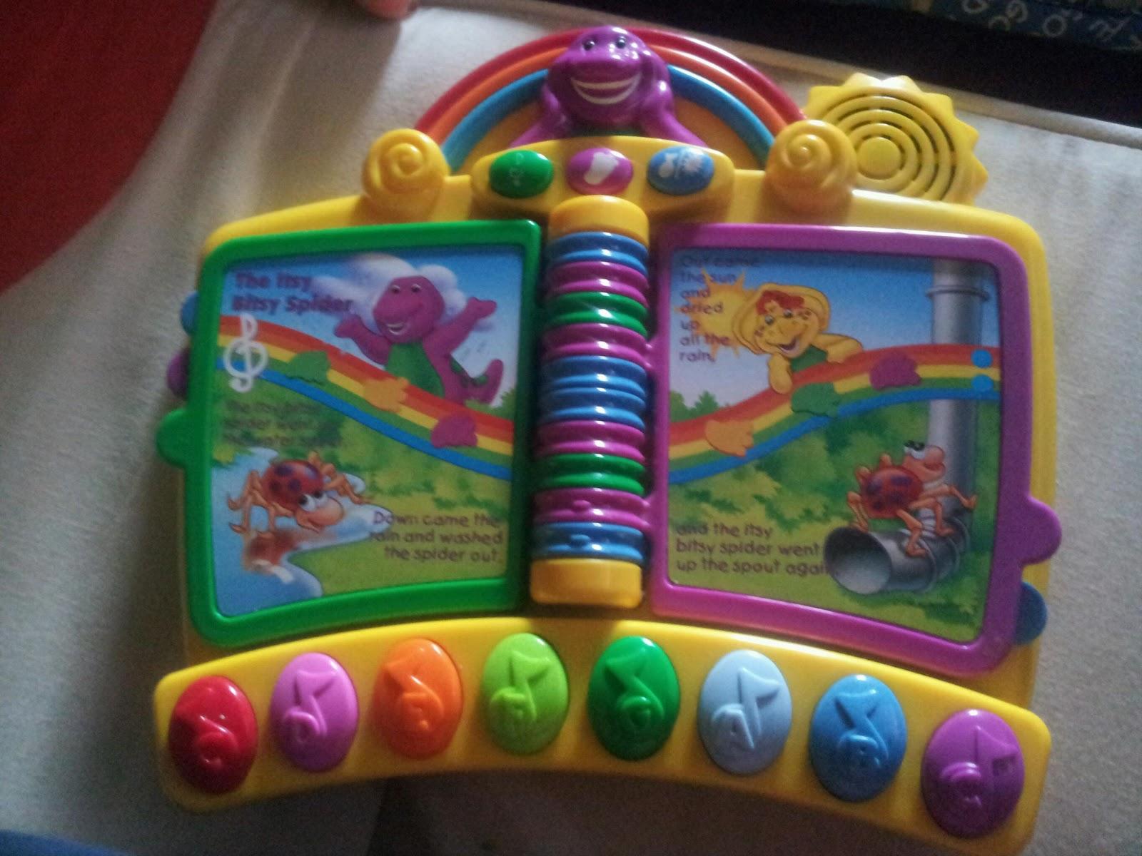 oldstreetshop: Barney & Friends Kids Sing N Play ...