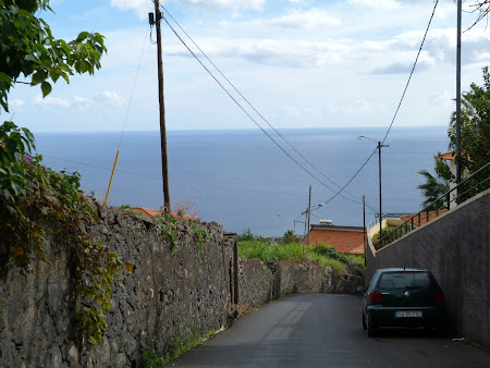 Atractii Madeira: la coborare in Funchal