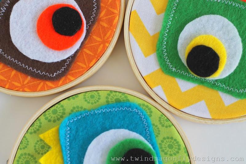 Monster Embroidery Hoop (26)