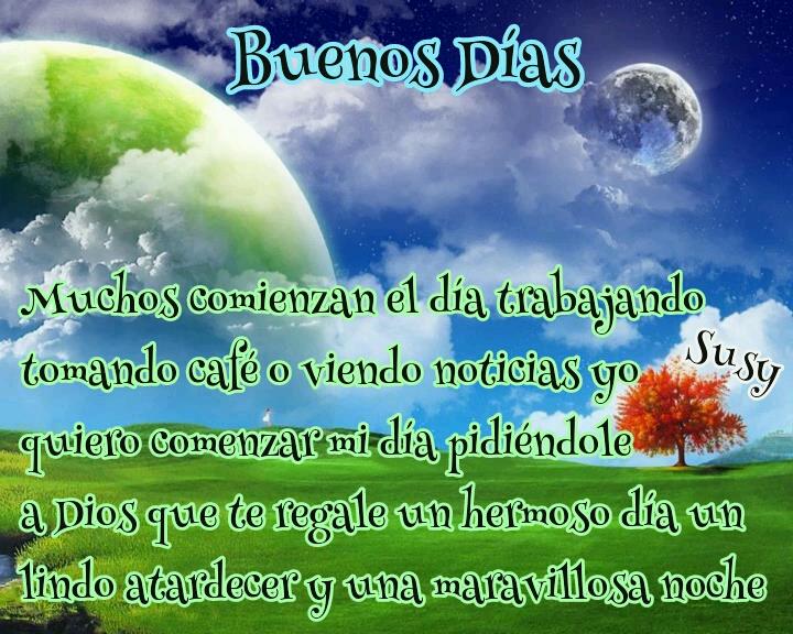 Mensajes De Buenos Dias: DILO CON FLORES Y TARJETAS: Buenos Días Frases