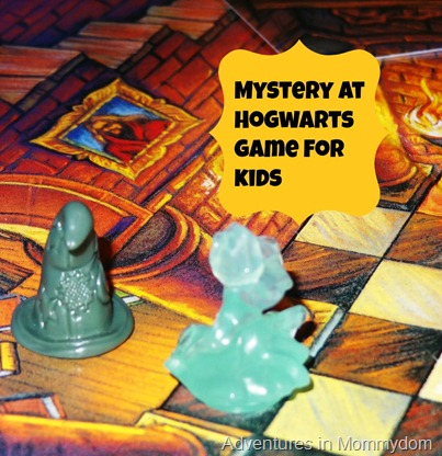 Mystery at Hogwarts Clue game