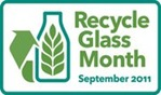 recycle glass month