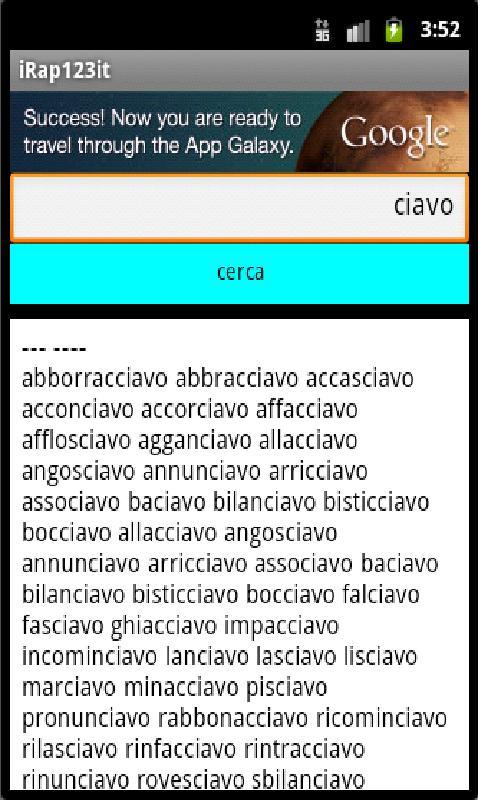 iRap123 italiano - screenshot