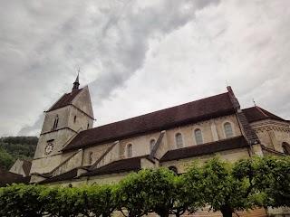 Collégiale à St-Ursanne