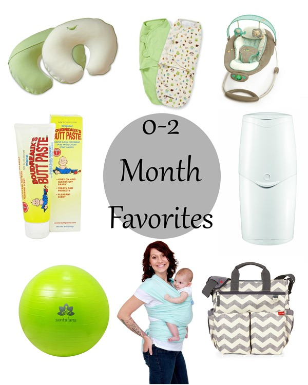 0-2 Month Favorite Products