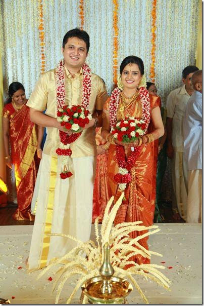 Balachandra Menon daughter Bhavana marriage photo3