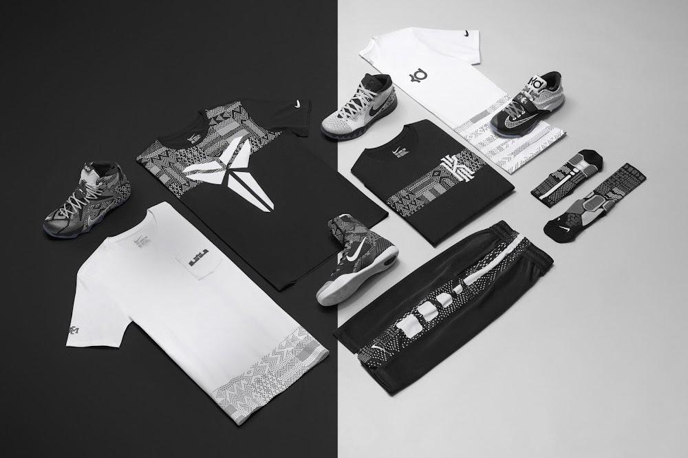 new styles c0228 a0e6c Best Gift Nike LeBron 12 BHM Black White Metallic Silver ...