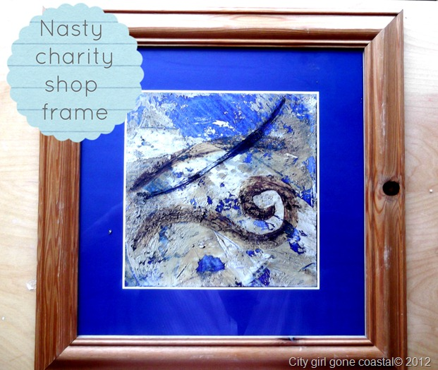 nasty charity shop frame