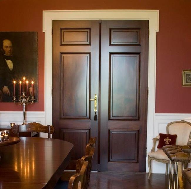 Custom-made Lefèvre Interiors Doors