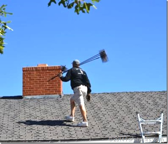 DIY, home improvement, chimney sweep, fireplace