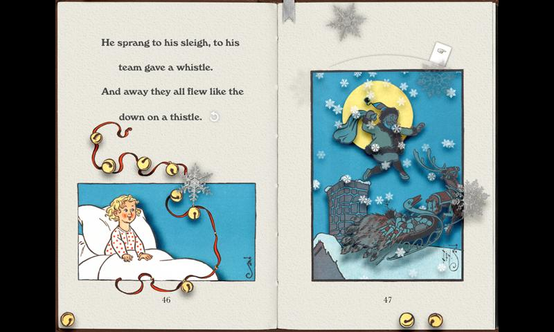 PopOut! The Night Before Christmas: A Pop-up Story- screenshot