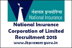 NICL Recruitment 2015 – 362 Administration Officer Posts
