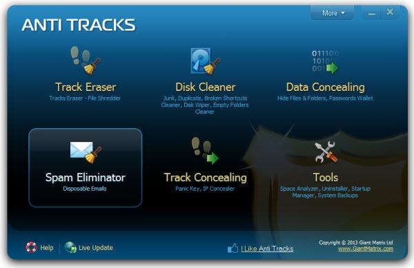 anti-tracks