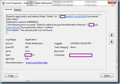 Terence Luk: Notes on moving Active Directory redirected