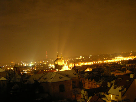 Obiective turistice Cehia: Prague by night