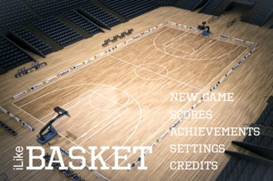 Free 3D Basketball Game : iLike Basket