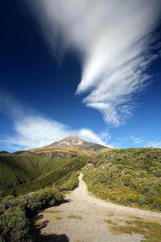 Mount Taranaki trail