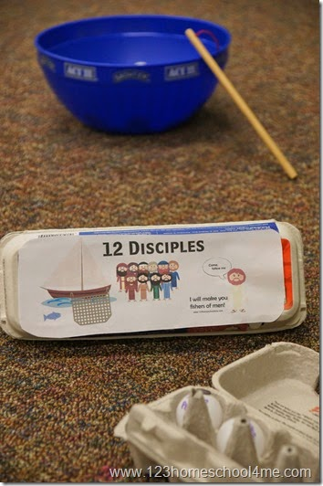 12 Disciples Game for Kids
