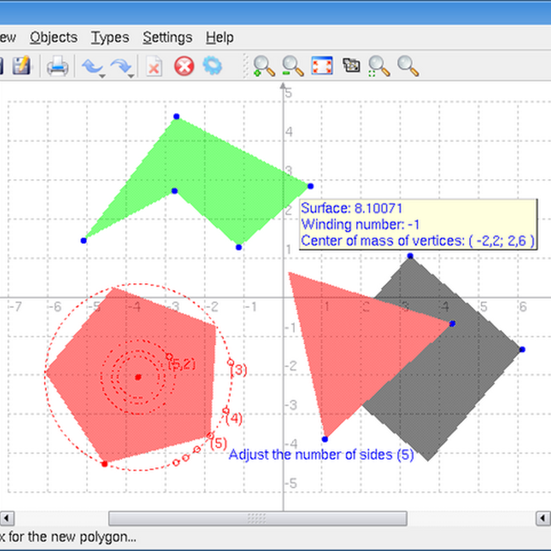 Teaching Math with Kig, the KDE Interactive Geometry Program.