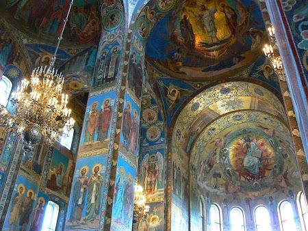Circuit Rusia: Interior catedrala Sf. Sange Varsat
