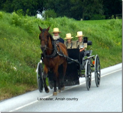 Lancaster, Amish country