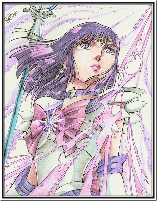 Sailor Saturn - Saint Seiya Araki