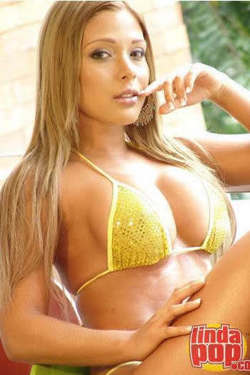 Milena Guzman Striptease Foto 85