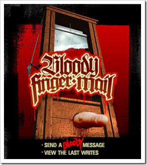 BloodyFingerMail