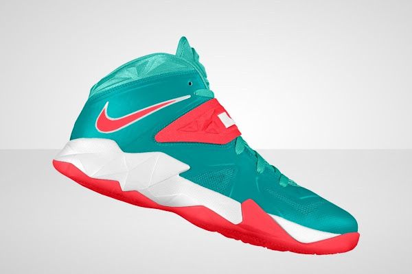 buy popular 94136 827bf LeBron Zoom Soldier VII Available for Customization at Nike iD