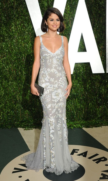 Selena Gomez 2012 Vanity Fair Oscar Party