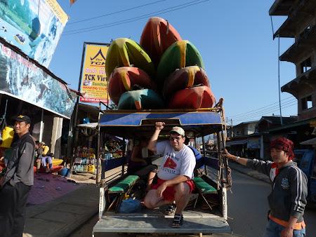 Tur Vang Vieng: gata de plecare in tur