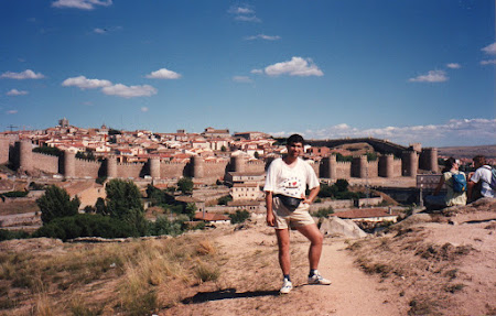 Imagini Spania: zidurile din Avila