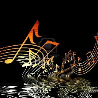 Fondo de pantalla con notas musicales - Imagui