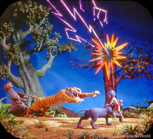 View-Master Jungle Book (B363): Scene 17