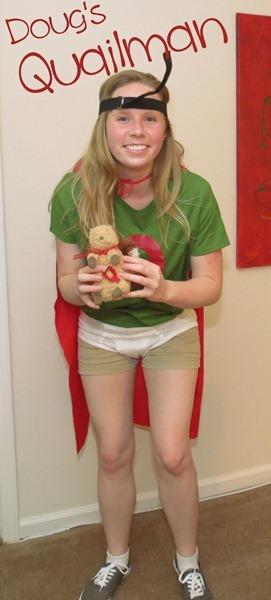 Hello Kirsti: Quailman Costume from Doug Quailman Doug Costume