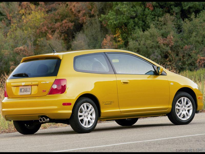 2002 Honda Civic Hatchback Specifications, Pictures, Prices