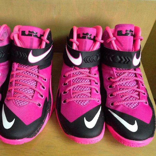 check out dd4b5 0c542 Nike Zoom Soldier VIII – Think Pink