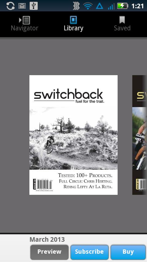 switchback mountain biking - screenshot