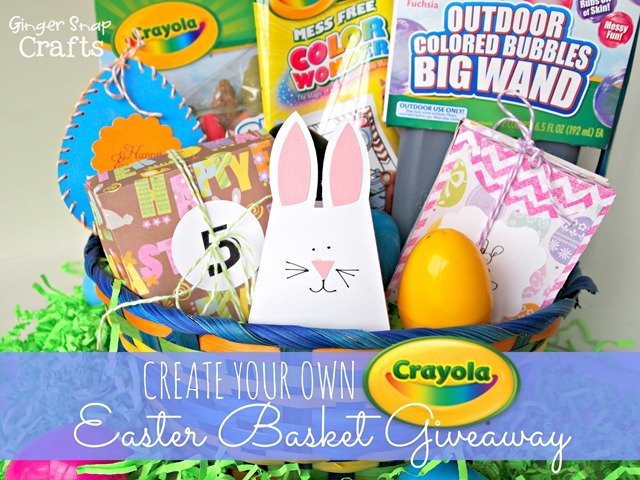 Create your own Crayola Easter Basket Giveaway #giveaway #easter