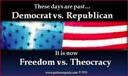 Freedom vs. Theocracy