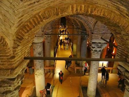Obiective turistice Istanbul: Bazilia Cisternei