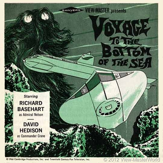 View-Master Voyage to the Bottom of the Sea (B483), booklet cover