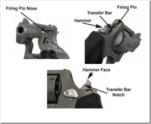 Tarus DA Hammer-Strike Face-Firing Pin