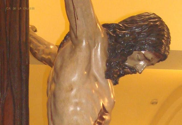 Besapié Cristo de la Buena Muerte. H. Estudiantes. Sevilla. 29.3.2009
