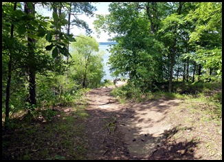 10b - Best part - path to the lake-alittle closer