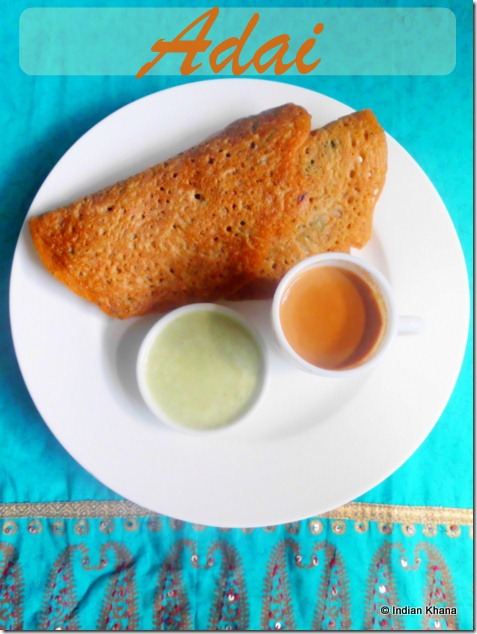 Adai Dal Chilla Recipe