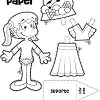 Imagen Para Colorear Ropa Prendas Dibujos Para Colorear E