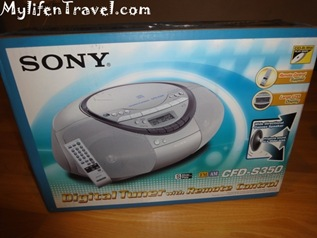 Sony CD player S350 5