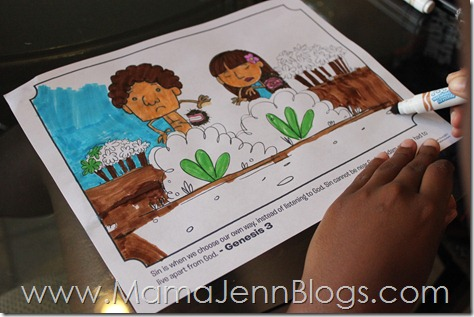 What's in the Bible? Coloring Page