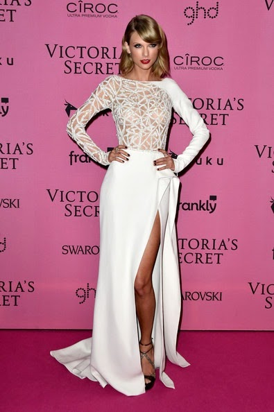 Taylor Swift Arrivals Victoria Secret Fashion